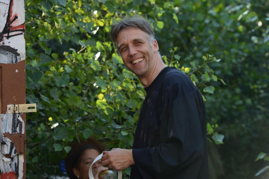 """""""Der Pfarrer des Dorfes"""" (Harald Polzin)"""