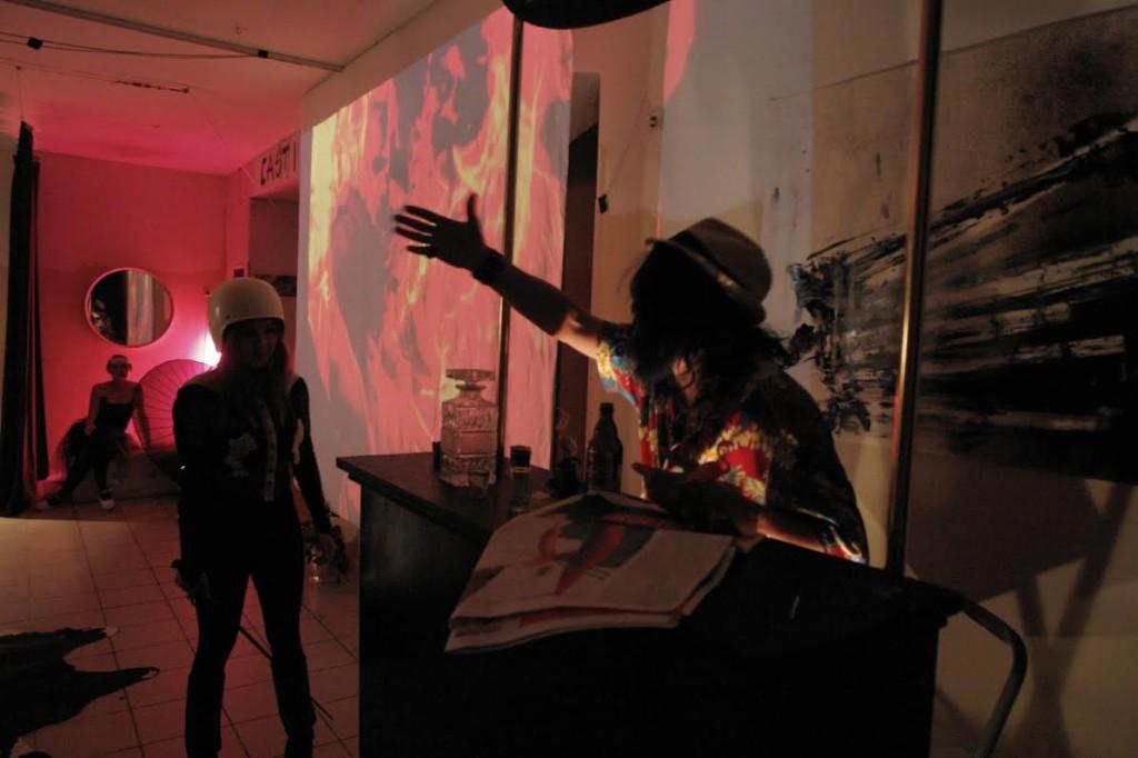 Julia Swiech und Roberto Permanentausstellung